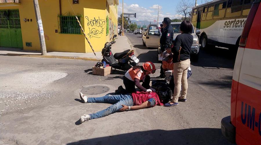 Arrollado en Eduardo Mata | El Imparcial de Oaxaca
