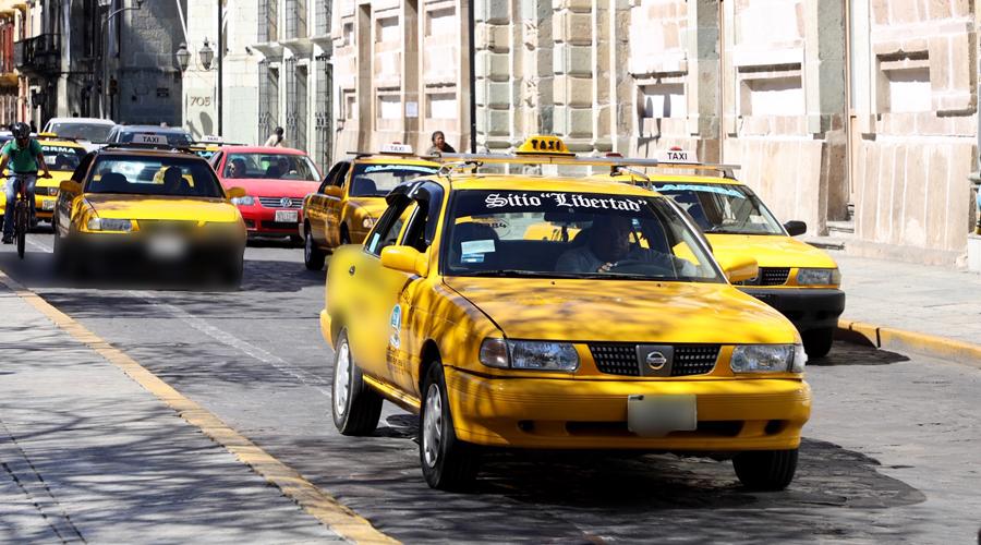 Sin control cobro de tarifas de taxis en la capital oaxaqueña | El Imparcial de Oaxaca
