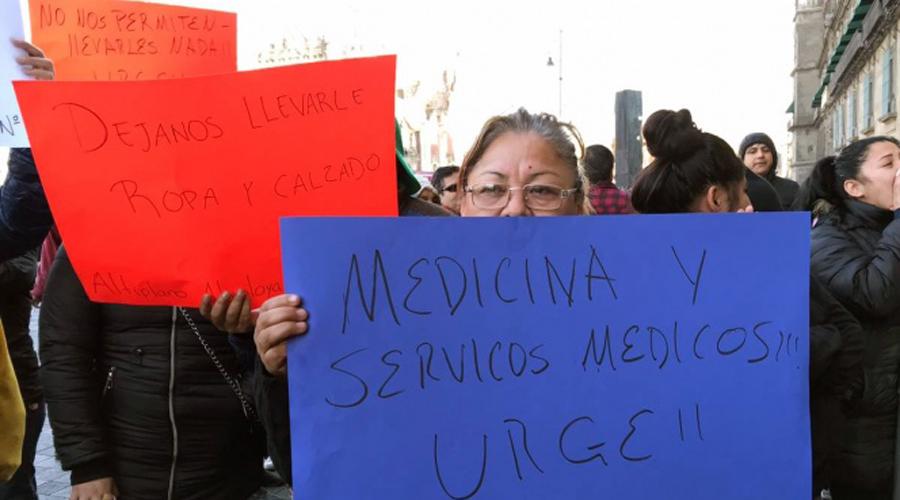 Se manifiestan familiares de reos por mejores condiciones | El Imparcial de Oaxaca