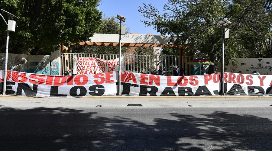 Declara STEUABJO paro indefinido | El Imparcial de Oaxaca