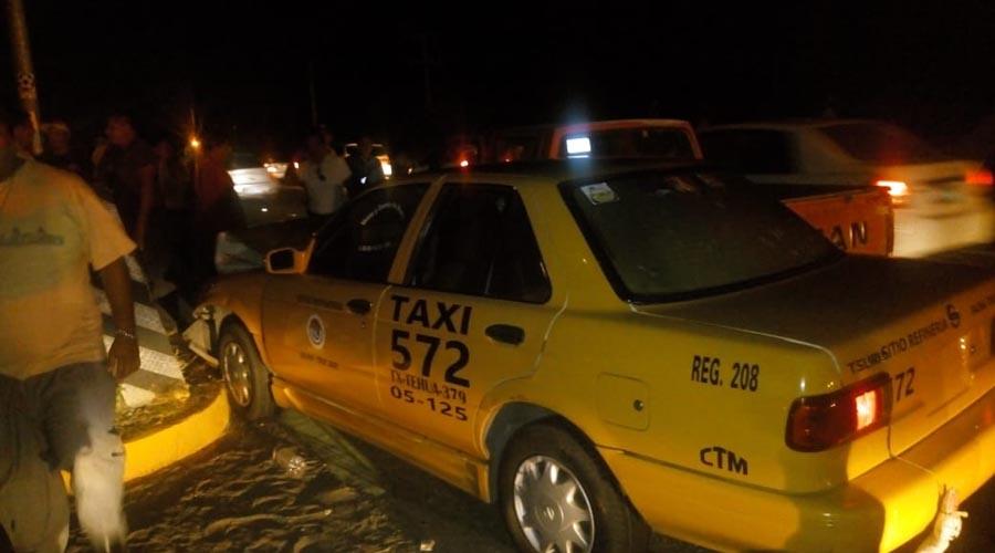 Accidentes viales a la alza, taxistas ocupan el primer lugar en el Istmo | El Imparcial de Oaxaca