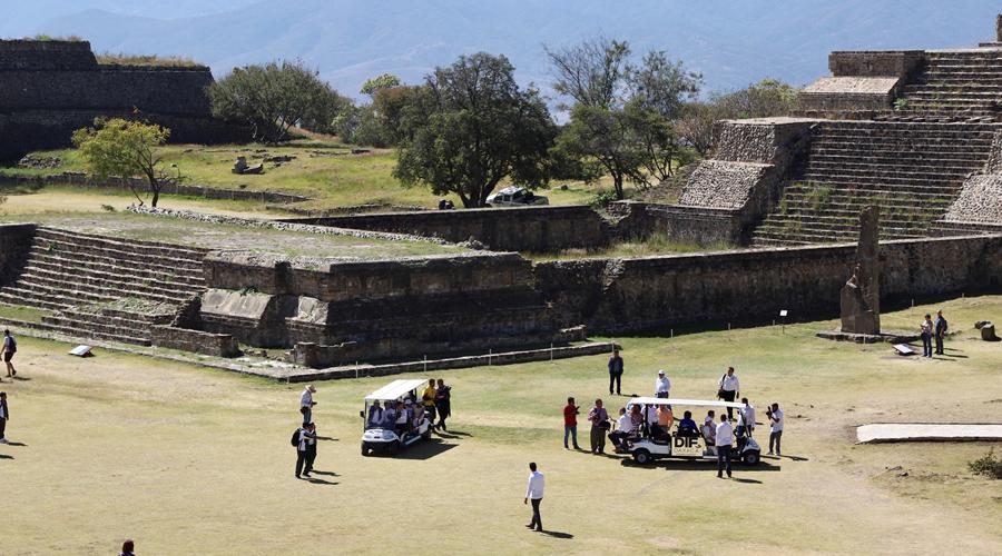 Ya no habrá más invasiones en Monte Albán | El Imparcial de Oaxaca