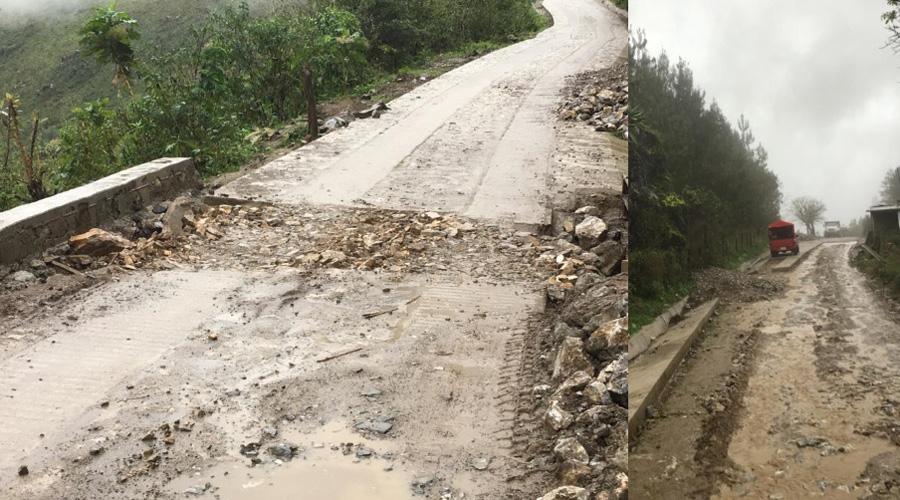 Deja SCT obra inconclusa de Santa Flor a Chapulapa | El Imparcial de Oaxaca