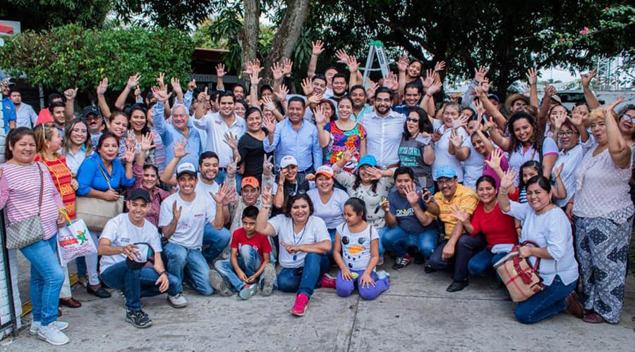 Participan en tequio a beneficio de los adultos mayores en Tuxtepec | El Imparcial de Oaxaca