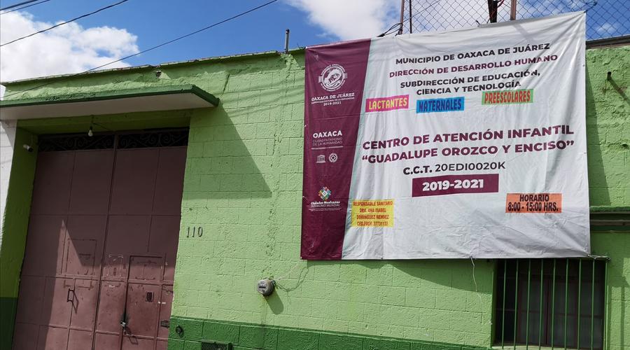 Por trámites, el Centro de Atención Infantil Guadalupe Orozco suspendió actividades | El Imparcial de Oaxaca