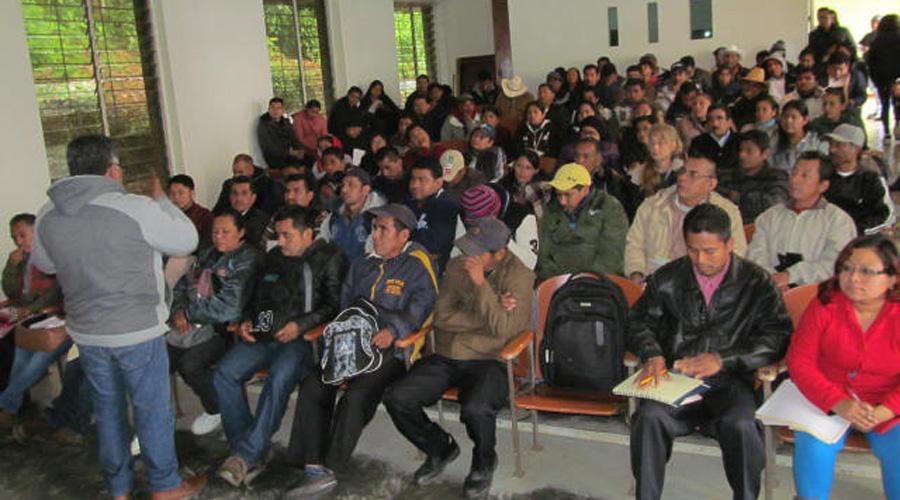 Trataron temas de aguas negras y abandono al campo en Huautla   El Imparcial de Oaxaca