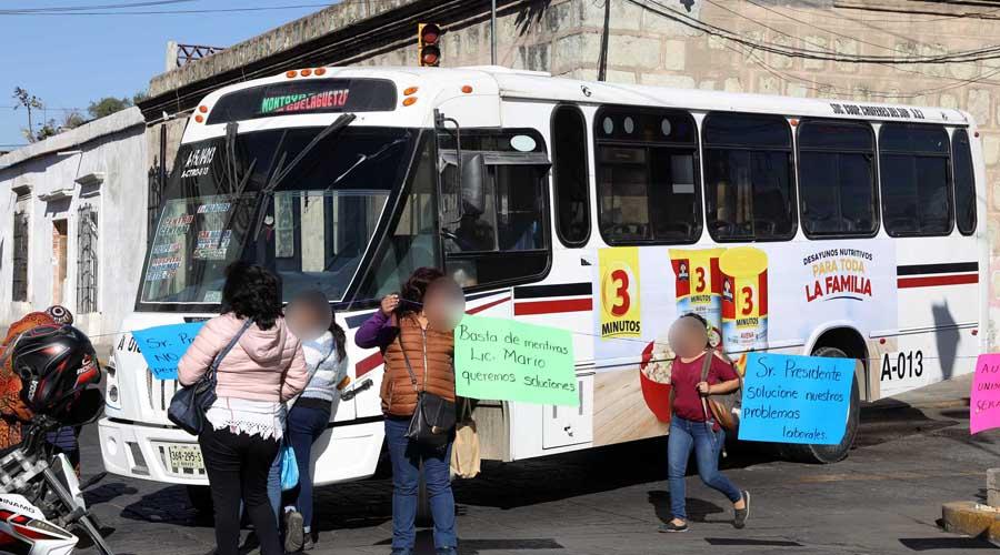 Suman 48 bloqueos en 30 días en la ciudad oaxaqueña   El Imparcial de Oaxaca