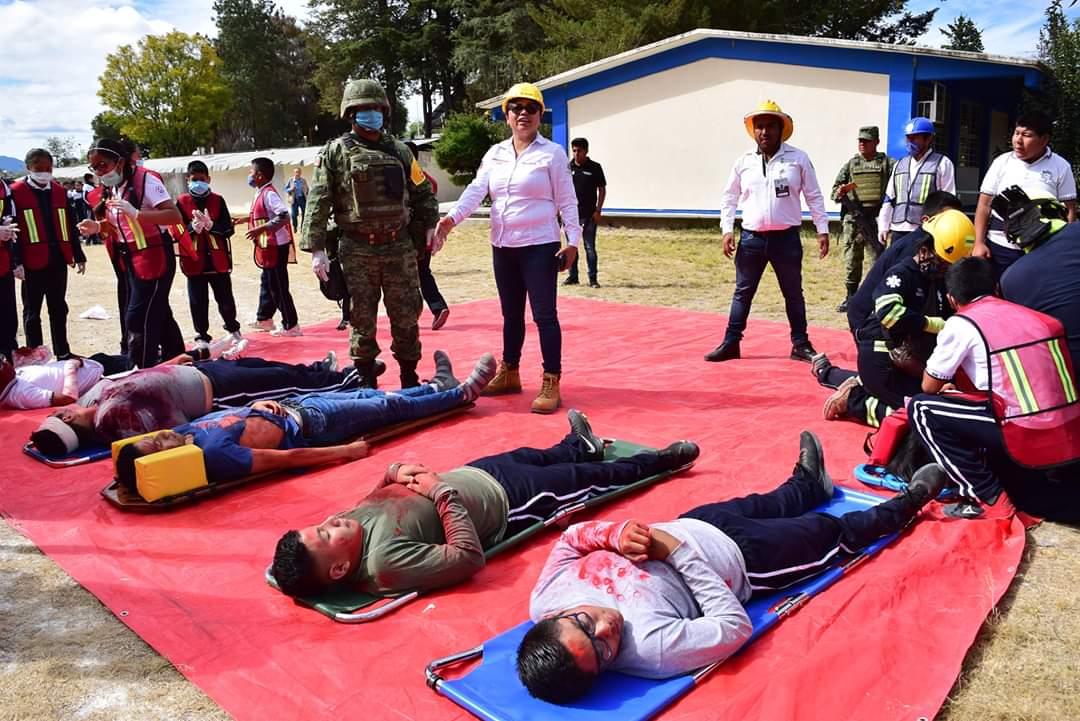 Realizan Macro simulacro en Tlaxiaco | El Imparcial de Oaxaca