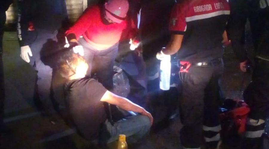 Golpean a sujeto en la central | El Imparcial de Oaxaca