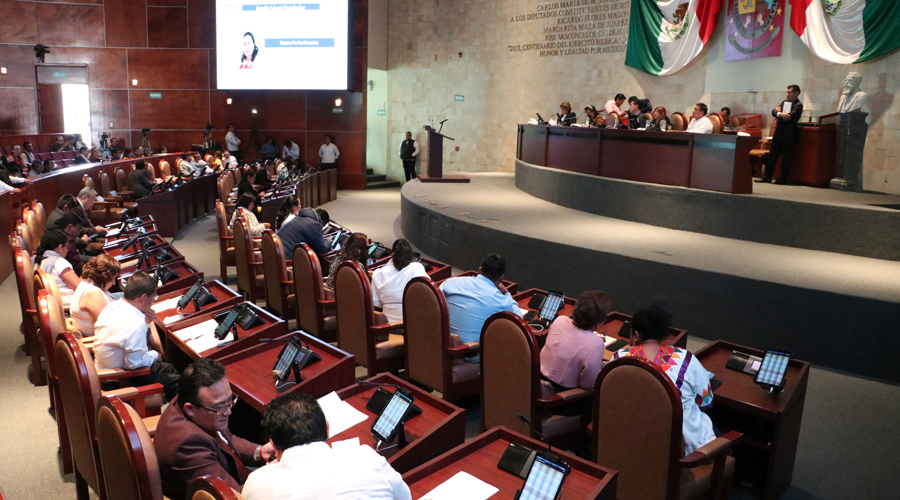 Congreso del Estado congela la iniciativa de recorte a partidos | El Imparcial de Oaxaca