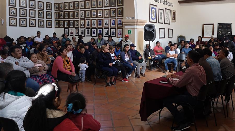 Por diversas protestas, suspenden sesión de Cabildo de Oaxaca capital | El Imparcial de Oaxaca