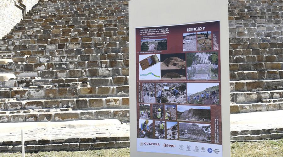 Monte Albán: la ciudad  redescubierta tras los sismos