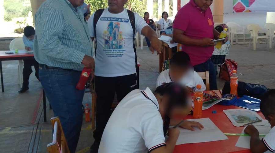 Organizan en primaria de San Juan de los Cués demostración de dibujos | El Imparcial de Oaxaca