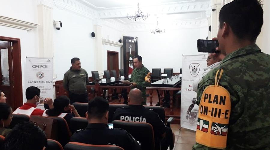 Se preparan para simulacro nacional en Huajuapan | El Imparcial de Oaxaca