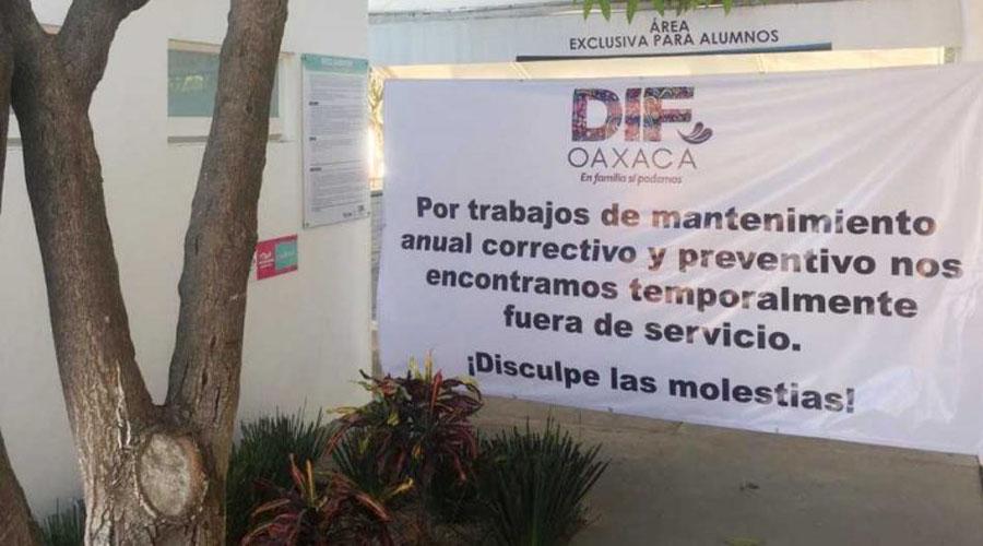 Cierran alberca del DIF para mantenimiento   El Imparcial de Oaxaca