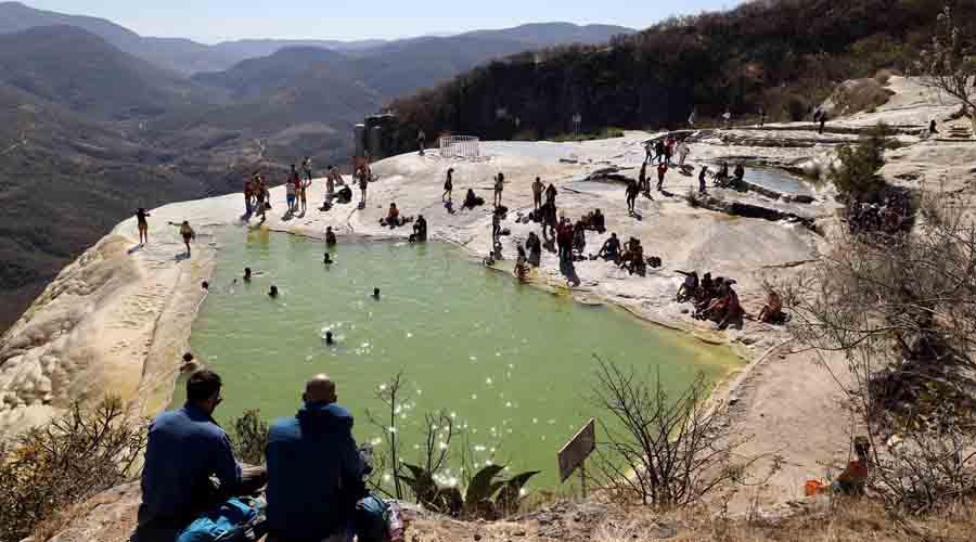 Hierve el Agua, un imán para el turismo   El Imparcial de Oaxaca
