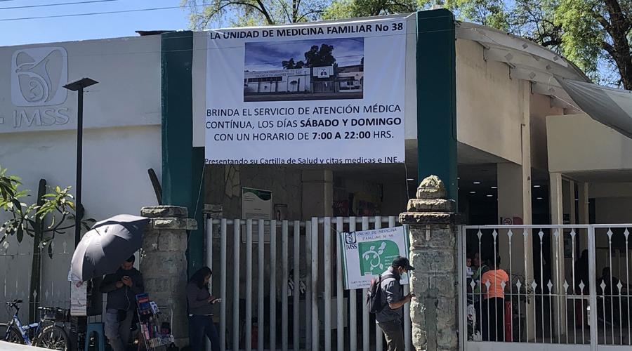 Sindicalizados del IMSS exigen reconocimiento | El Imparcial de Oaxaca