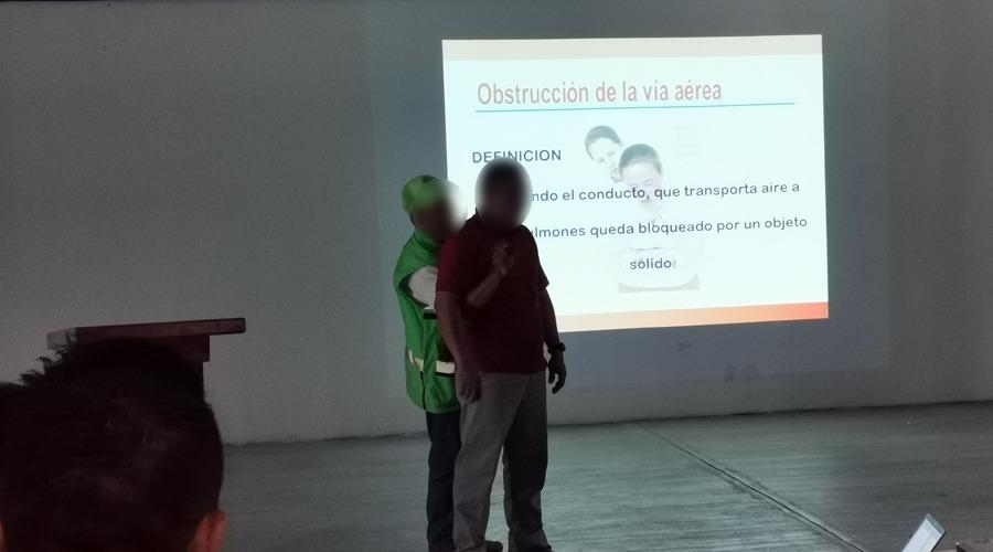 Protección civil imparte taller sobre simulacro de macrosismo   El Imparcial de Oaxaca