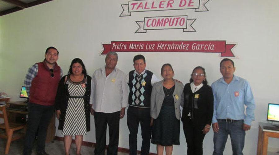 En Santa María la Asunción, Primaria Justo Sierra inauguró su techumbre | El Imparcial de Oaxaca