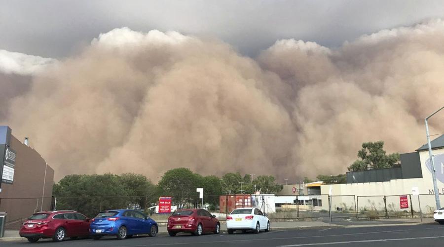 Violentas tormentas de granizo, polvo e incendios forestales sacuden a Australia. | El Imparcial de Oaxaca