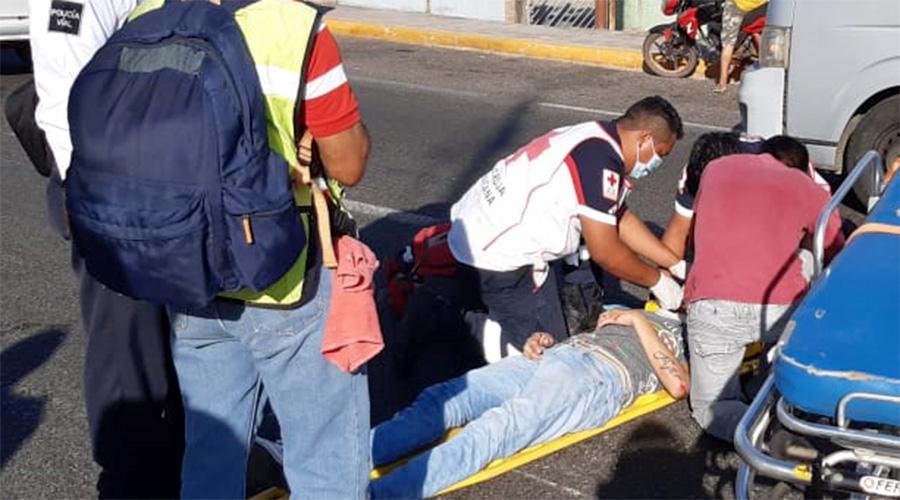 Arrolla a motociclista y lo deja abandonado en Tehuantepec | El Imparcial de Oaxaca