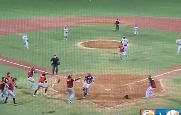 Video: Se desata batalla campal durante partido de béisbol en Venezuela | El Imparcial de Oaxaca