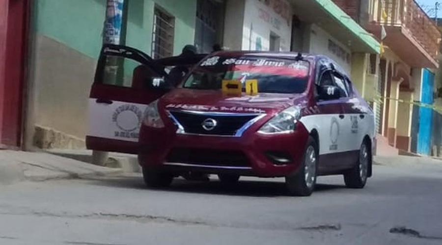 Asesinan taxista en Miahuatlán | El Imparcial de Oaxaca