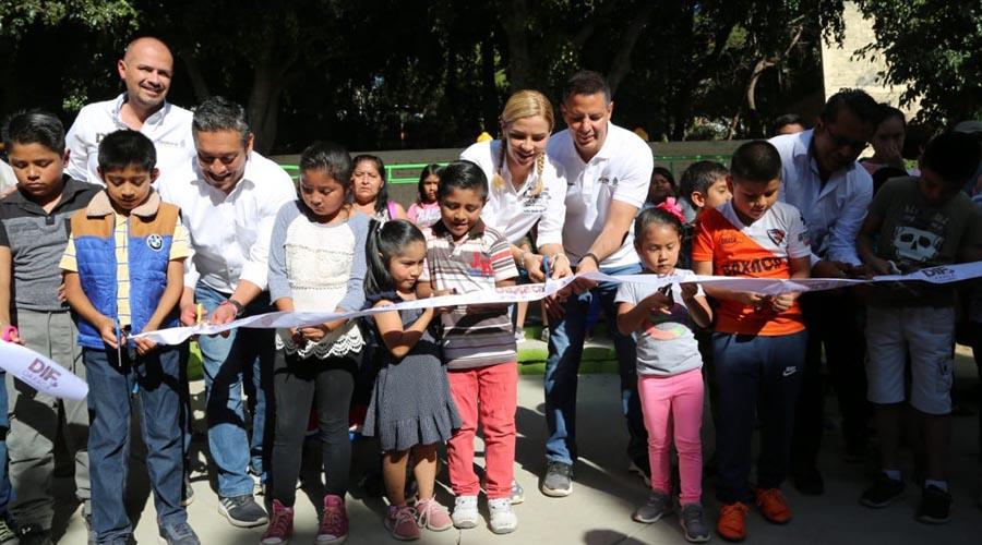 Inauguran gimnasios en la agencia Vicente Guerrero   El Imparcial de Oaxaca