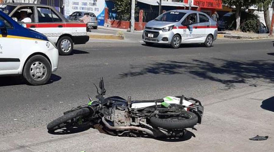 Atropella a motociclista, en la colonia del Maestro en Huajuapan | El Imparcial de Oaxaca