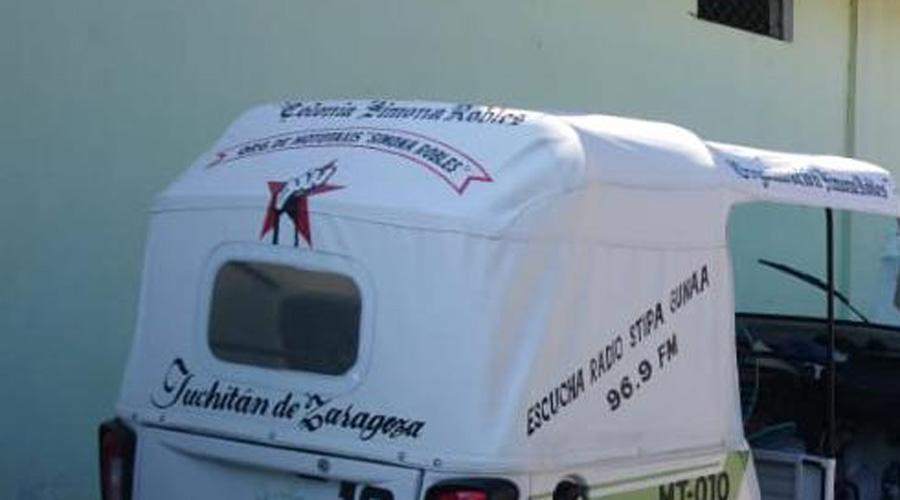 Recuperan mototaxi que había sido robado en Juchitán | El Imparcial de Oaxaca