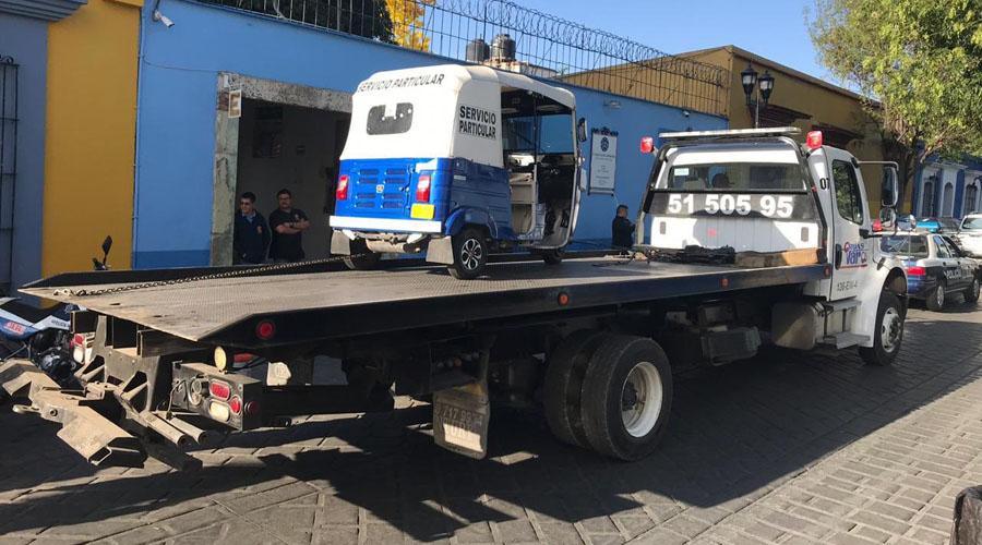 Aseguran mototaxi fuera de su ruta | El Imparcial de Oaxaca