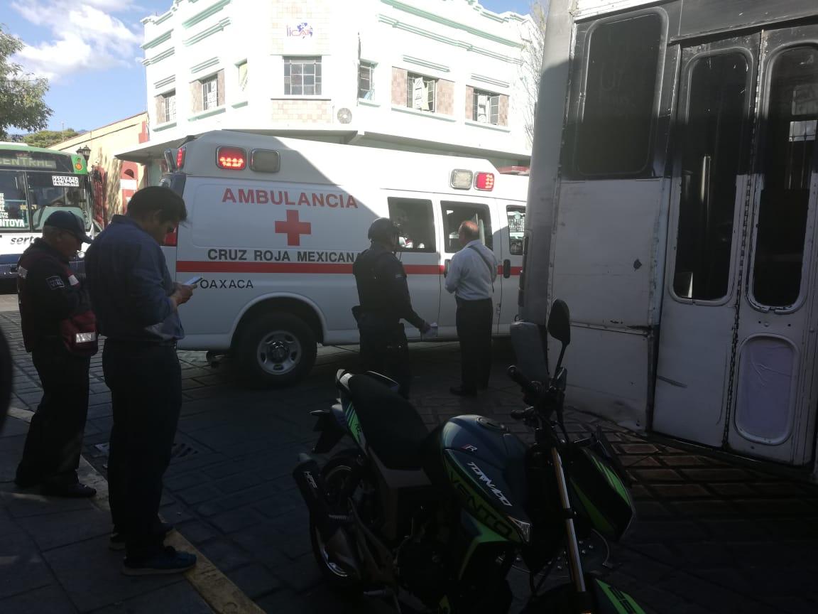 Chofer sufre infarto mientras conducía | El Imparcial de Oaxaca