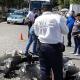 Violenta colisión entre vehículos en Huajuapan