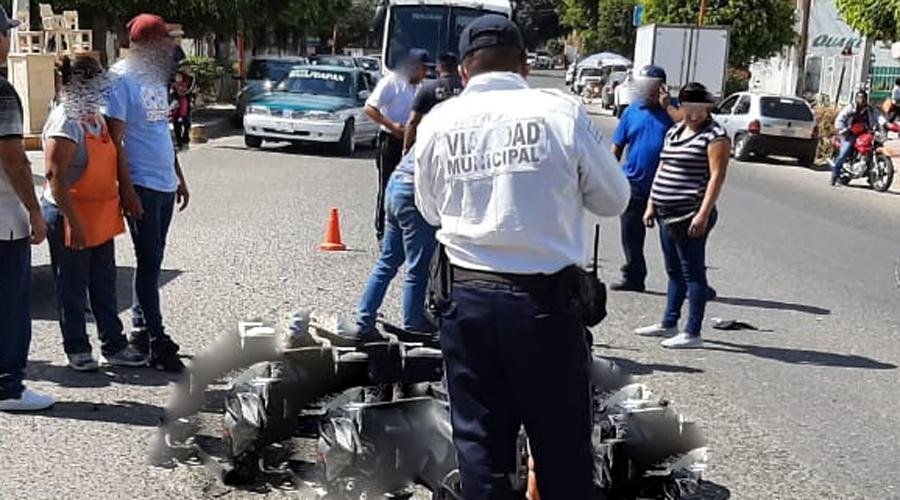 Violenta colisión entre vehículos en Huajuapan   El Imparcial de Oaxaca
