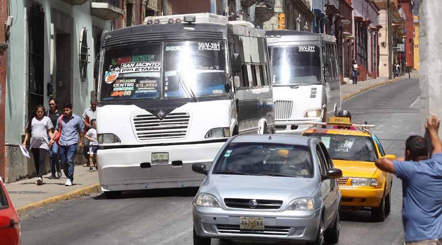 Reporta Semovi tres  concesiones canceladas | El Imparcial de Oaxaca