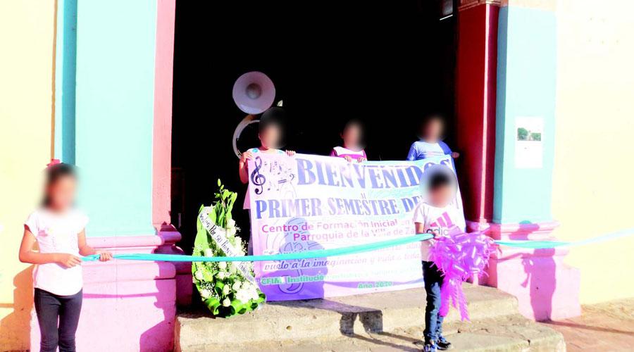 Nace Centro de Formación Inicial en Música de Oaxaca