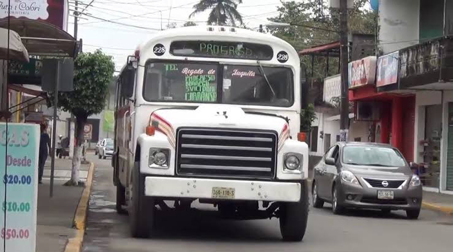 Urbaneros de Tuxtepec pedirán aumento de tarifa | El Imparcial de Oaxaca