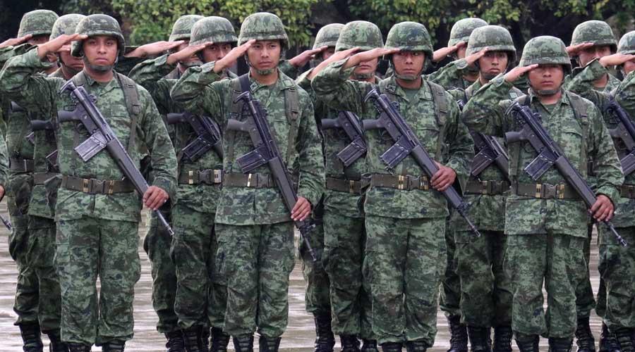 Fuerzas armadas escriben la historia de México