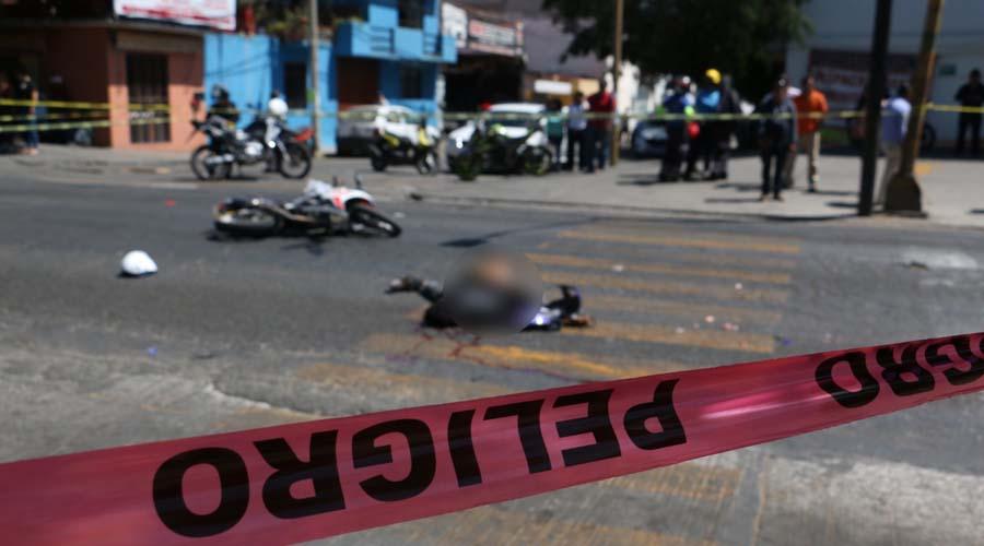 Motociclista pierde la vida al ser embestido por un urbano en en bulevar Eduardo Vasconcelos