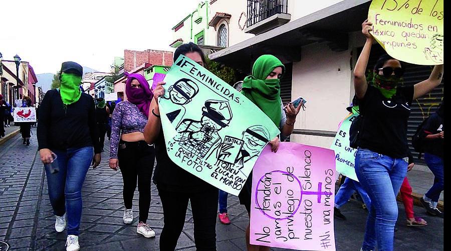 Muestran mujeres ira por alza de feminicidios   El Imparcial de Oaxaca