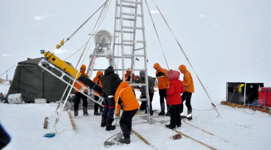 """Video: robot submarino capta imágenes del glaciar del """"Fin del mundo"""" en la Antartida   El Imparcial de Oaxaca"""