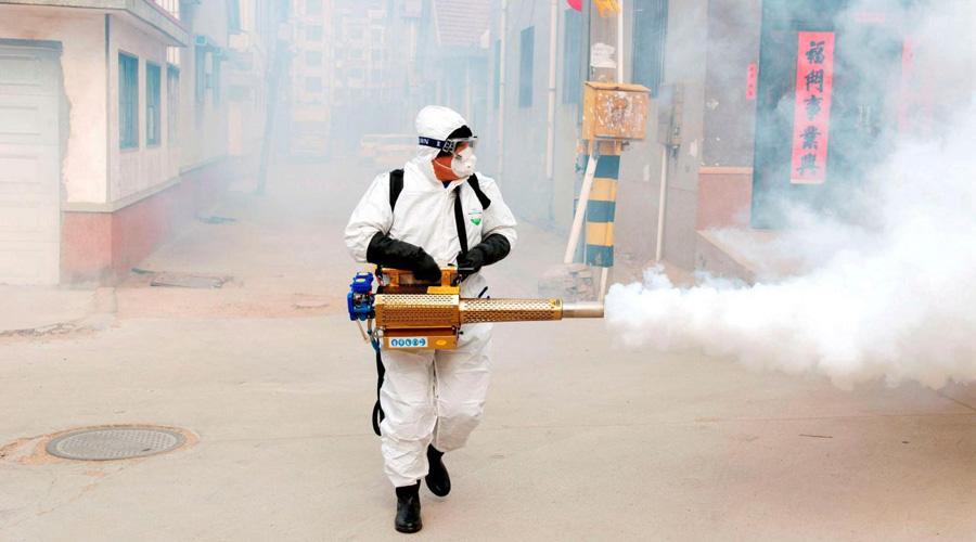 "Video: China ""desinfecta"" sus calles para matar el coronavirus | El Imparcial de Oaxaca"