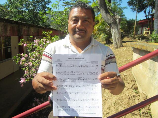 Cobao de Huautla transcribe en mazateco el Himno Nacional   El Imparcial de Oaxaca