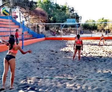 Valles Centrales ya tiene seleccionados de voleibol de playa para Juegos Conade