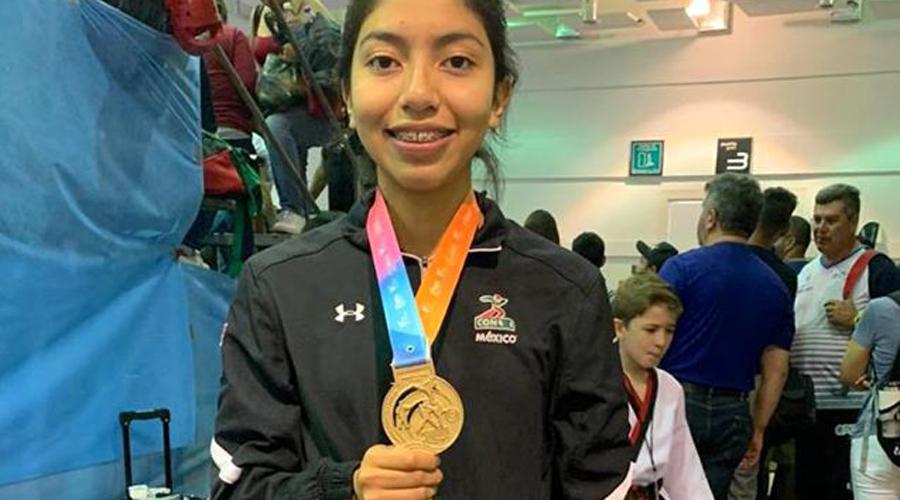 La Oaxaqueña Americas Comonfor gana medalla de oro en Taekwondo 2020 | El Imparcial de Oaxaca