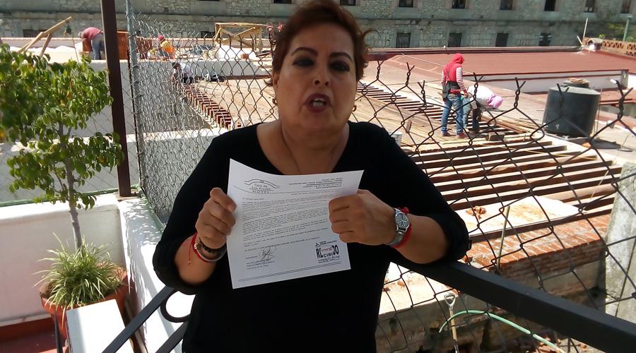 Corre a huéspedes, obra en el MUFI en el Centro de Oaxaca