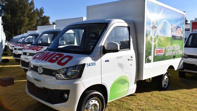 Bimbo añade 100 vehículos eléctricos a su flotilla verde | El Imparcial de Oaxaca