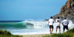 Prohíben nadar en Punta Conejo, Playa Abierta y Azul