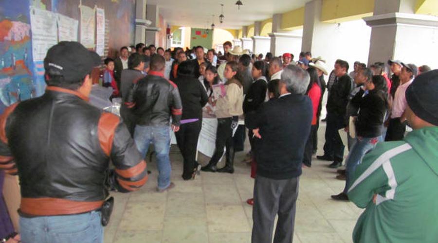 Piden ampliar servicios de RFE-INE en Huautla | El Imparcial de Oaxaca