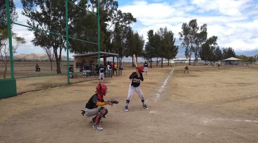 Los Osos suman su primer triunfo en la Liga de Beisbol Monte Albán